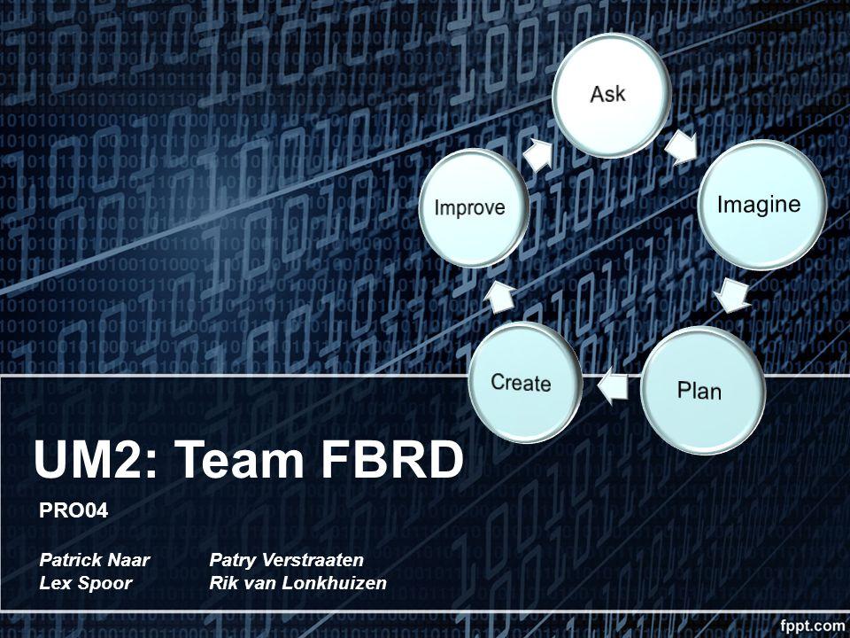 UM2: Team FBRD PRO04 Patrick Naar Patry Verstraaten