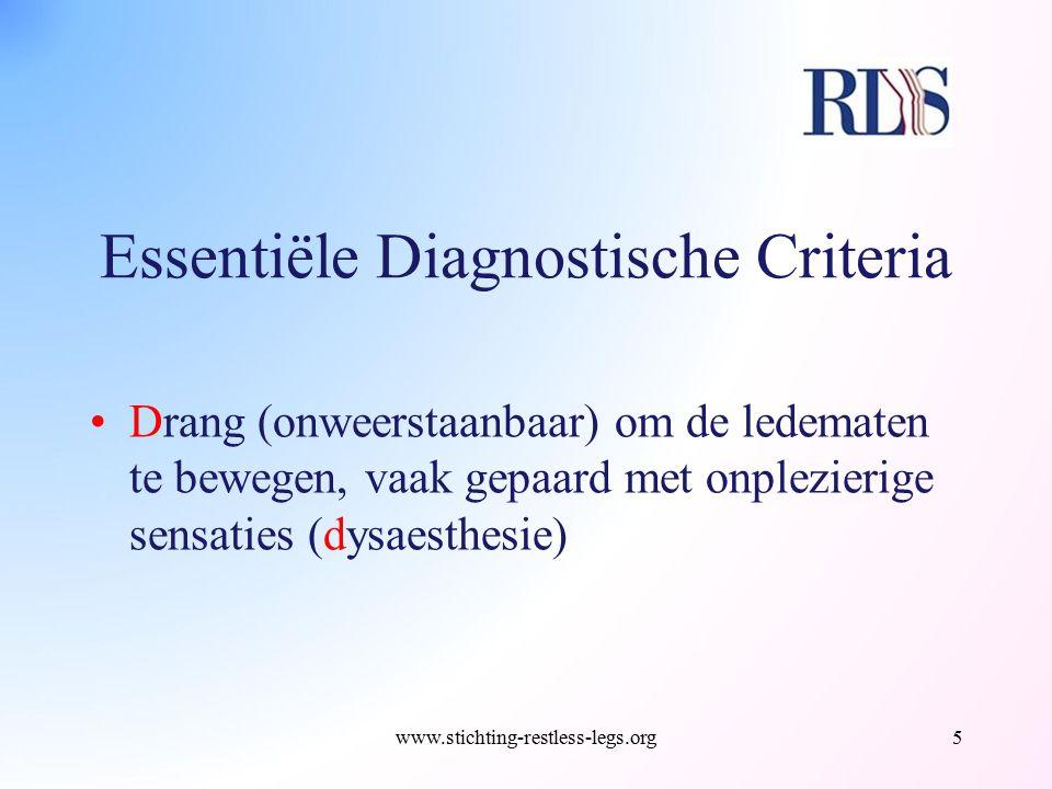 Essentiële Diagnostische Criteria