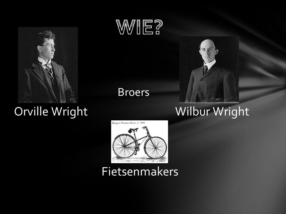 WIE Broers Orville Wright Wilbur Wright Fietsenmakers