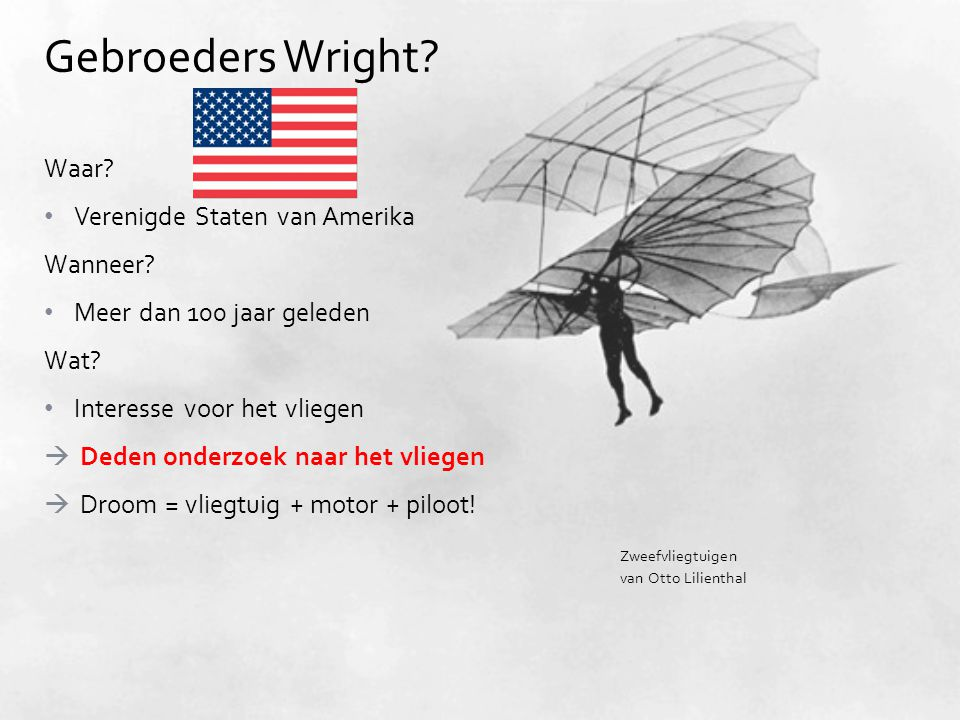 Gebroeders Wright Waar Verenigde Staten van Amerika Wanneer