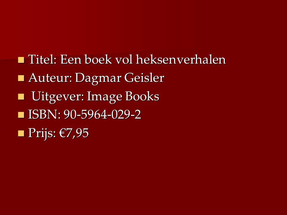 Titel: Een boek vol heksenverhalen