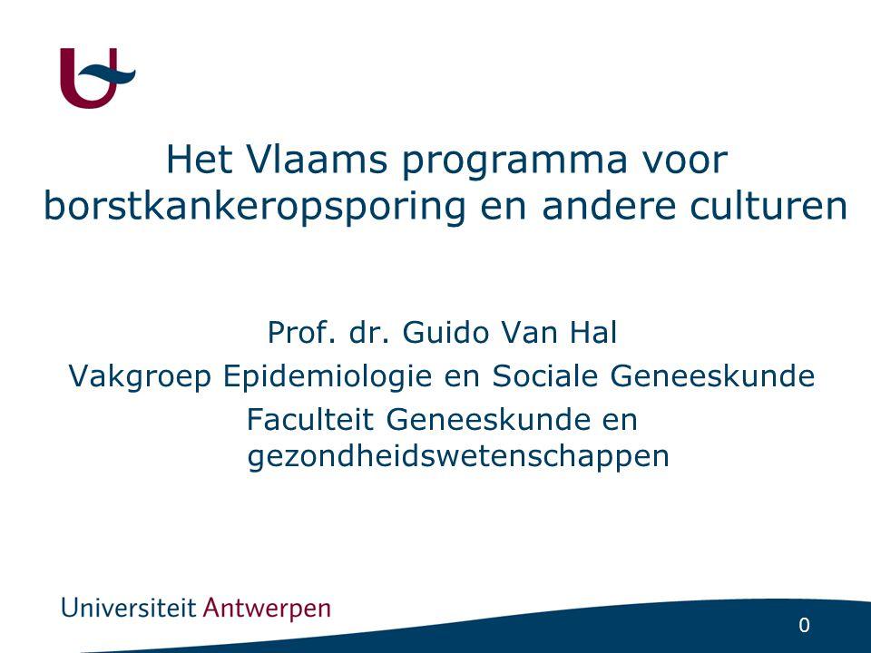en Ziektepreventie en de Vlaamse Logo's