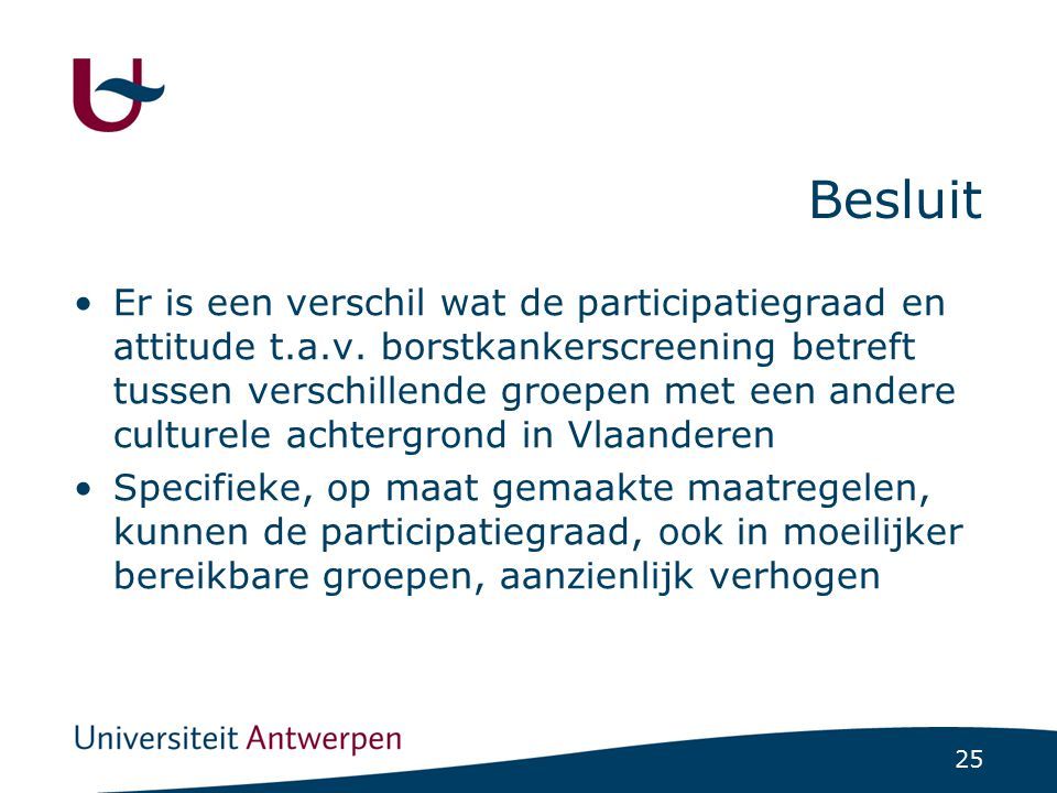 Dr. Sofie Van Roosbroeck