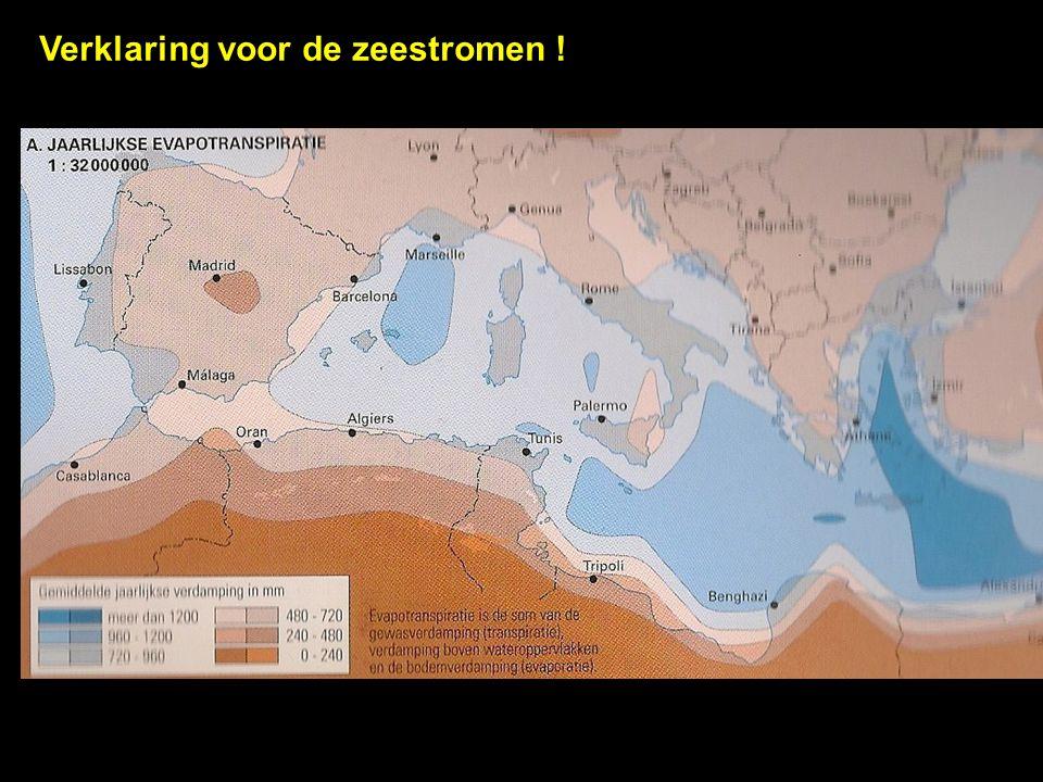 Verklaring voor de zeestromen !