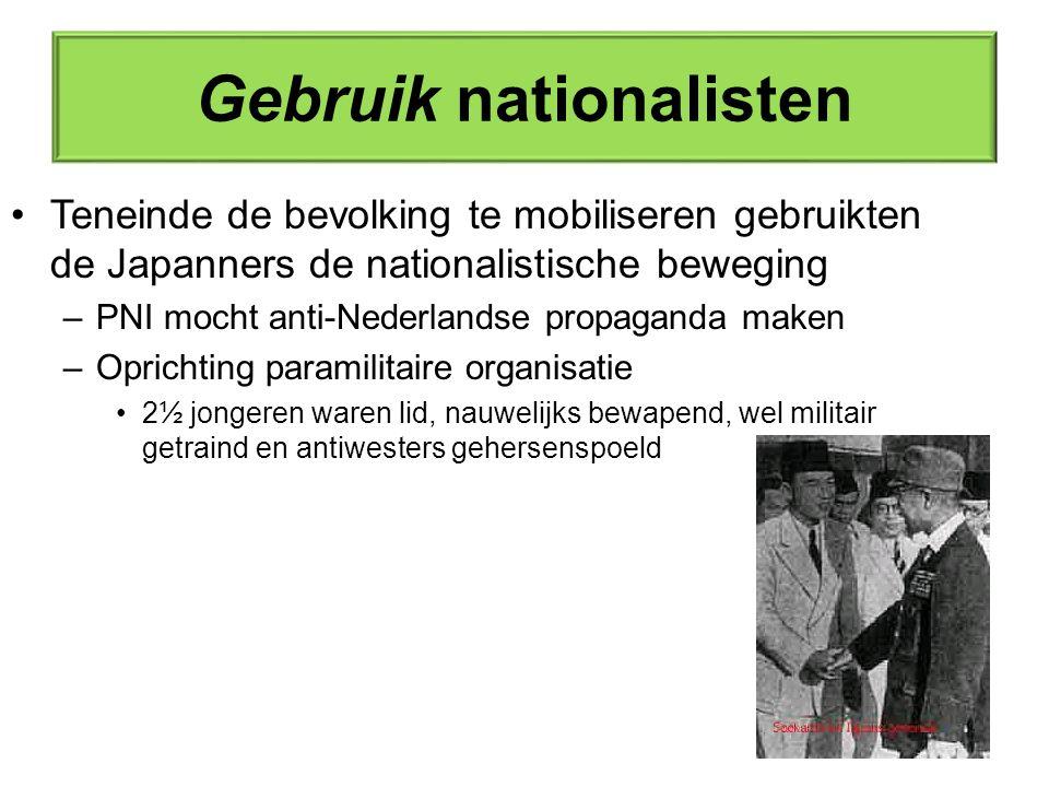 Gebruik nationalisten