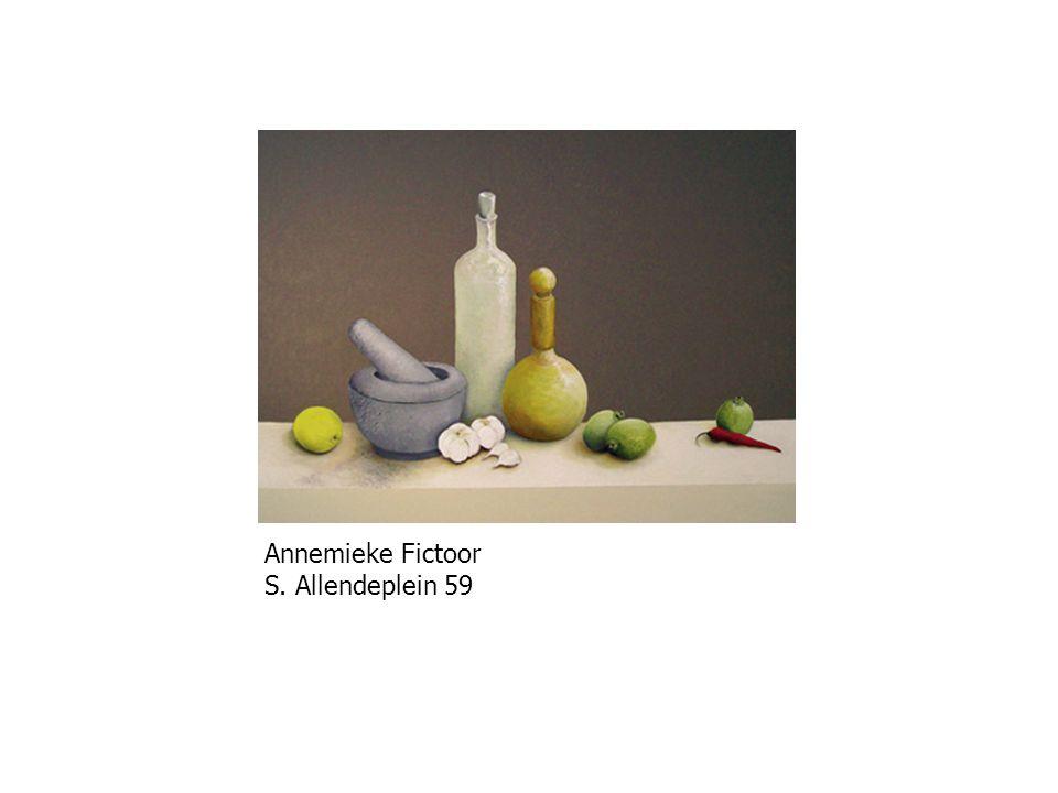Annemieke Fictoor S. Allendeplein 59