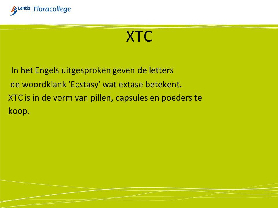 XTC In het Engels uitgesproken geven de letters