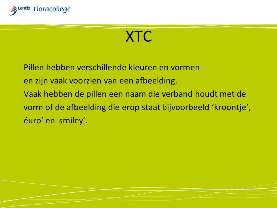 XTC Pillen hebben verschillende kleuren en vormen