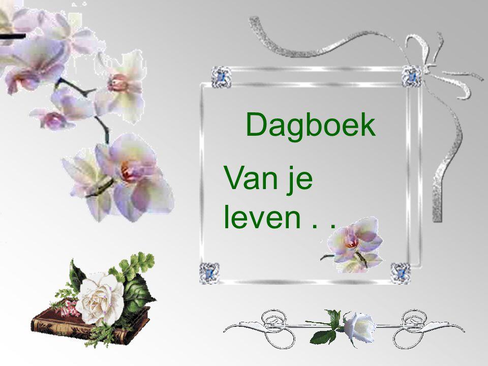 Dagboek Van je leven . . .