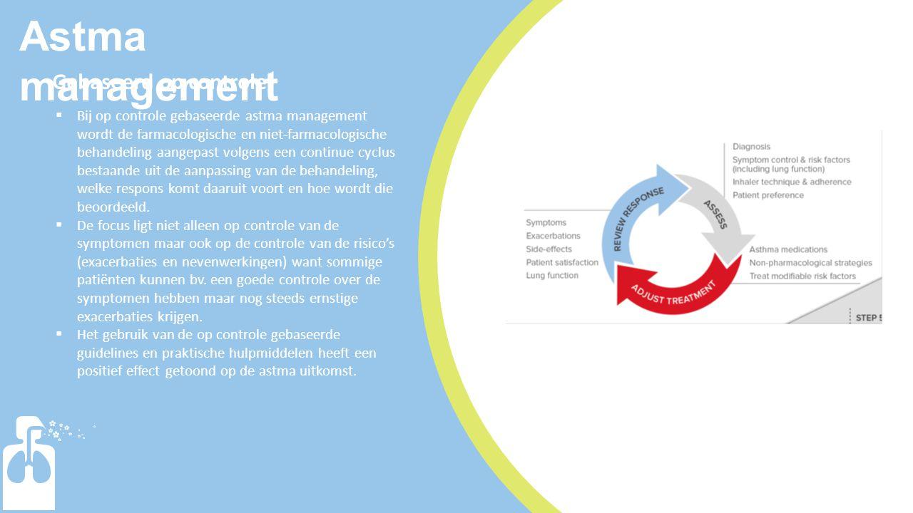 Astma management Gebaseerd op controle1