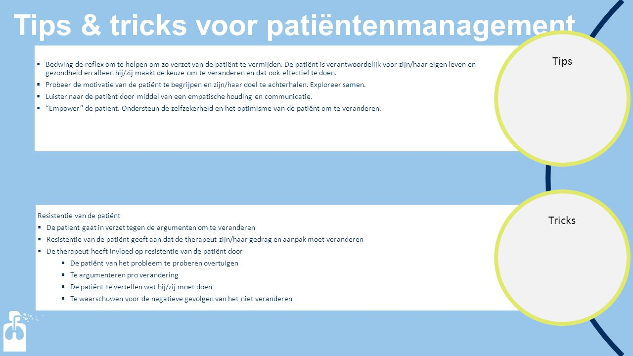 Tips & tricks voor patiëntenmanagement