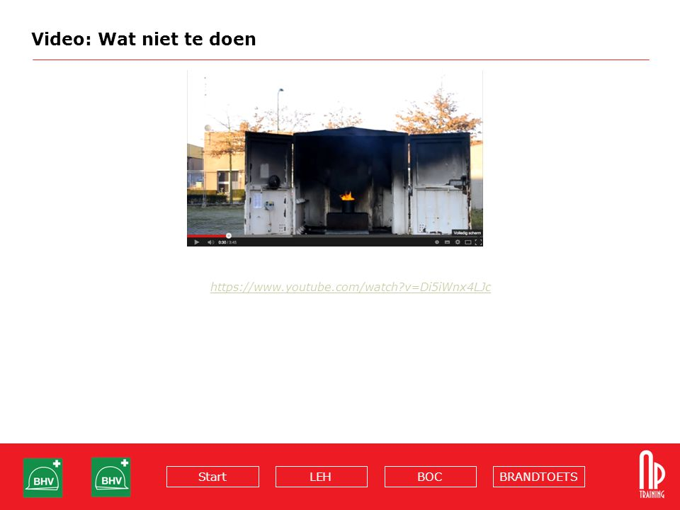 Video: Wat niet te doen https://www.youtube.com/watch v=Di5iWnx4LJc