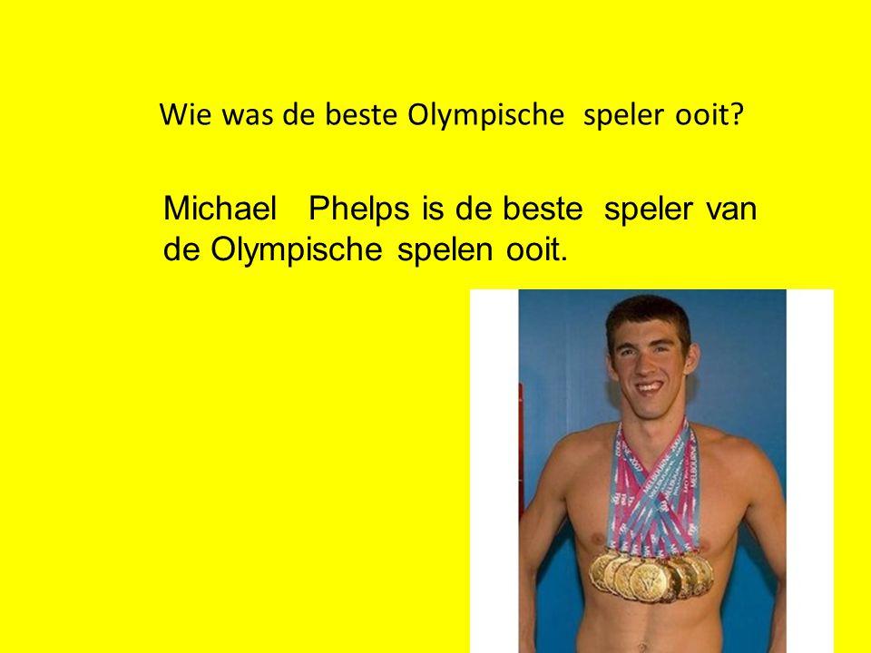Wie was de beste Olympische speler ooit