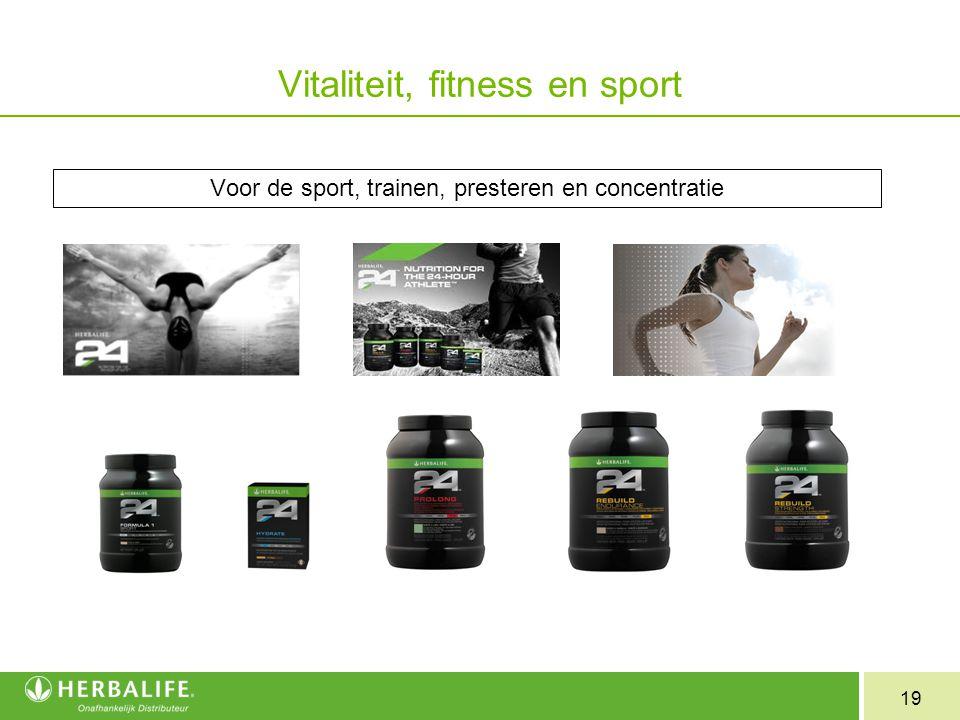 Vitaliteit, fitness en sport