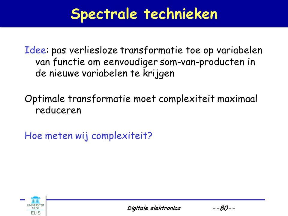 Spectrale technieken