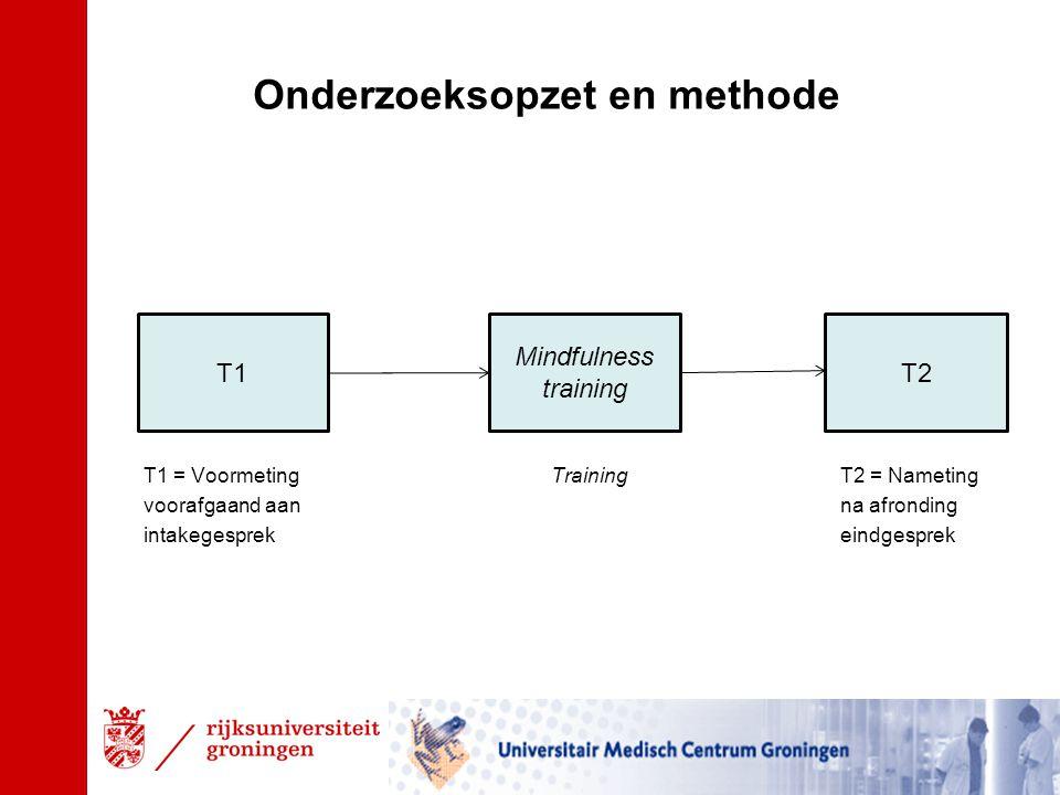 Onderzoeksopzet en methode