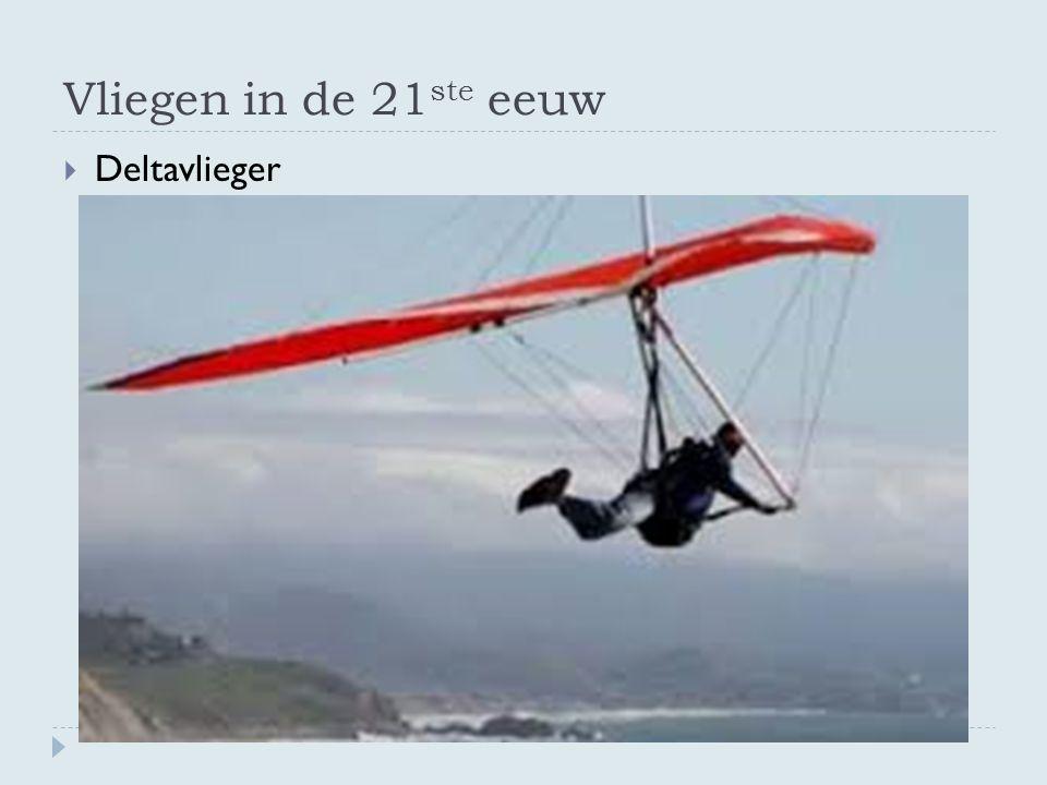 Vliegen in de 21ste eeuw Deltavlieger
