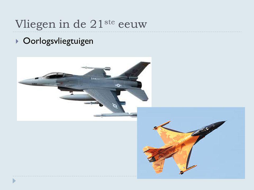 Vliegen in de 21ste eeuw Oorlogsvliegtuigen