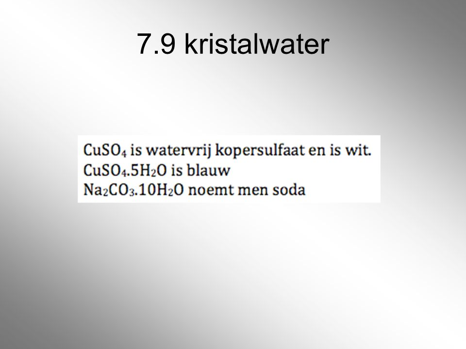 7.9 kristalwater