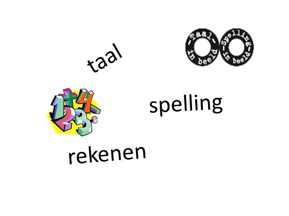 taal spelling rekenen