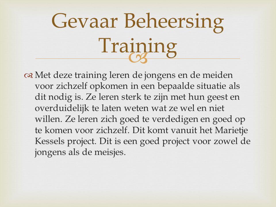 Gevaar Beheersing Training