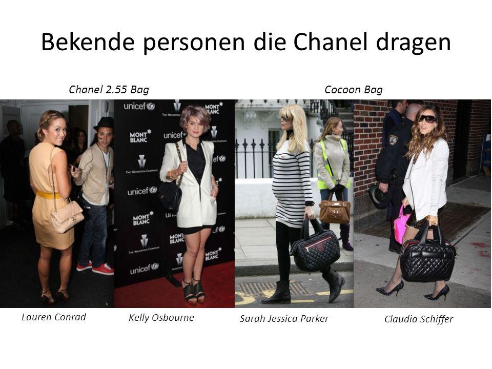 Bekende personen die Chanel dragen