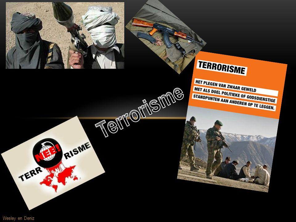 Terrorisme Voor pagina Wesley en Deniz