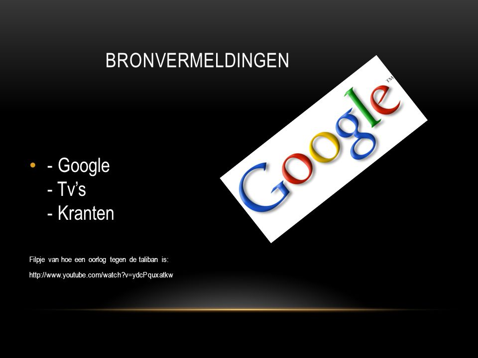 - Google - Tv's - Kranten