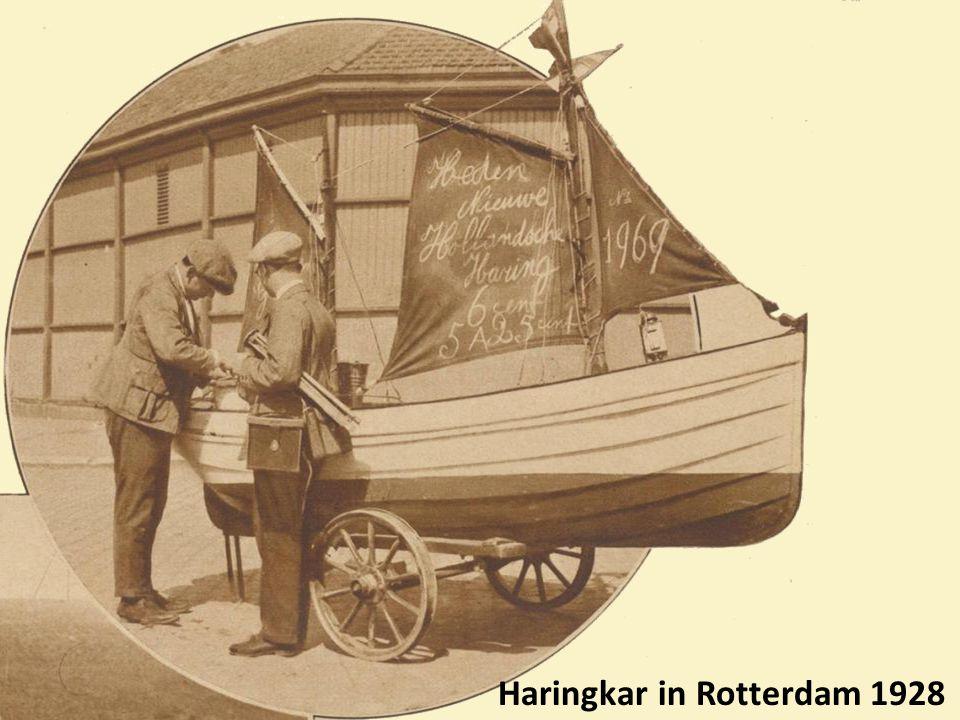 Haringkar in Rotterdam 1928
