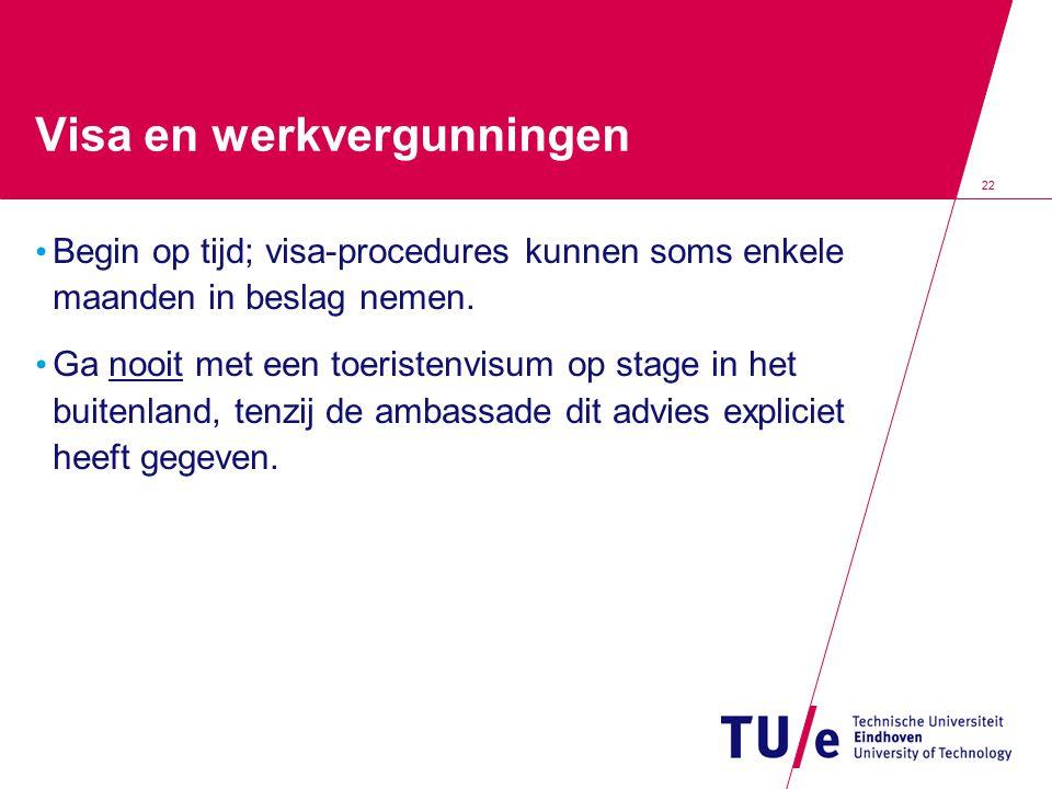 Visa en werkvergunningen