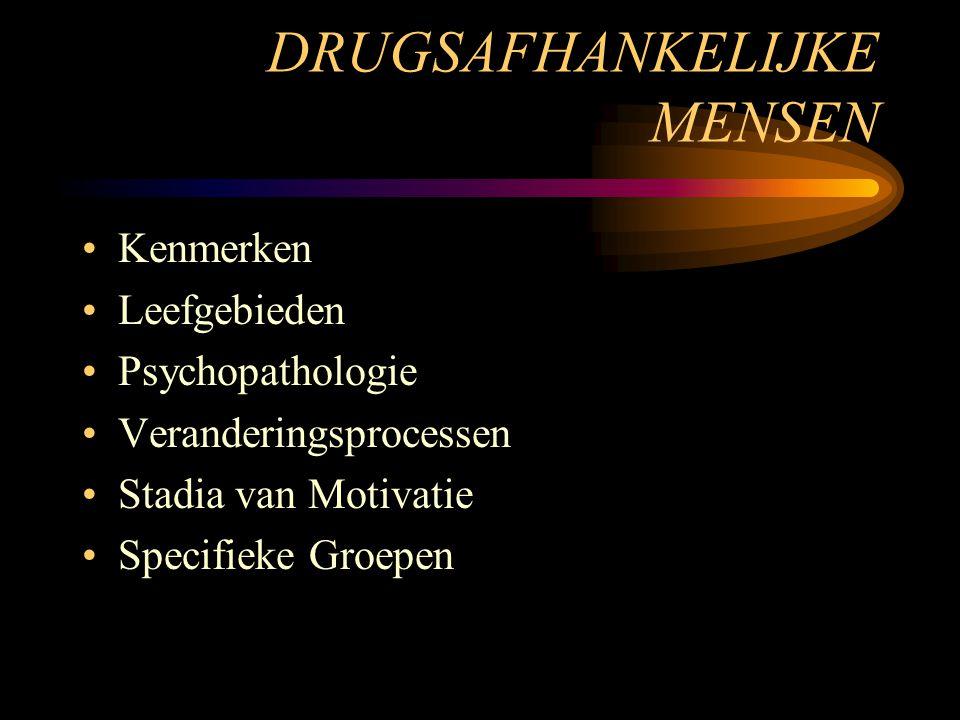 DRUGSAFHANKELIJKE MENSEN