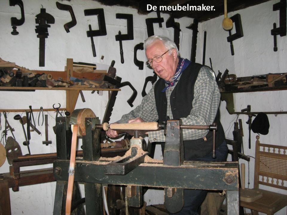 De meubelmaker.