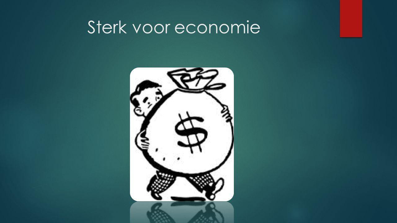Sterk voor economie
