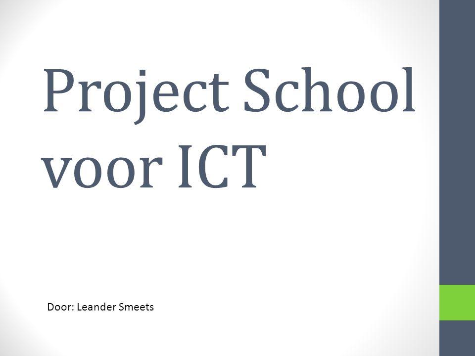 Project School voor ICT