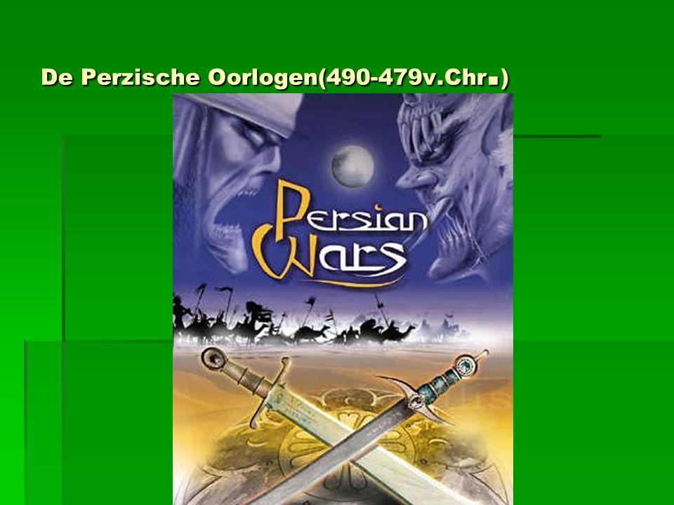 De Perzische Oorlogen(490-479v.Chr.)