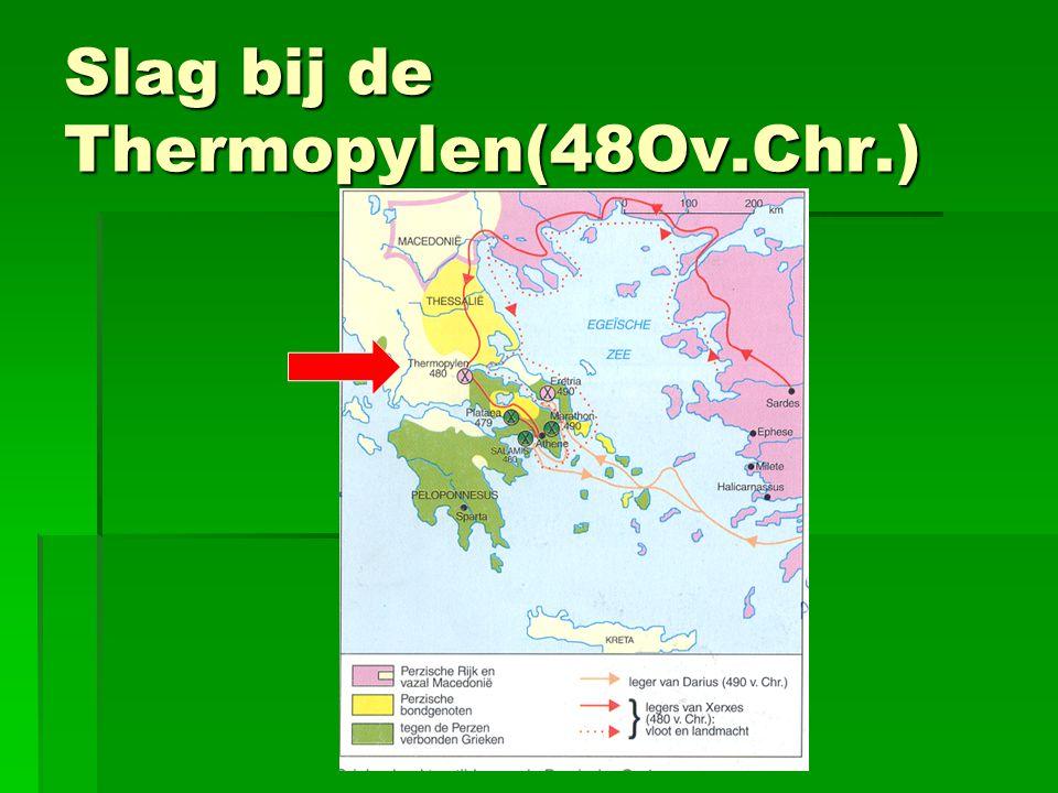 Slag bij de Thermopylen(48Ov.Chr.)
