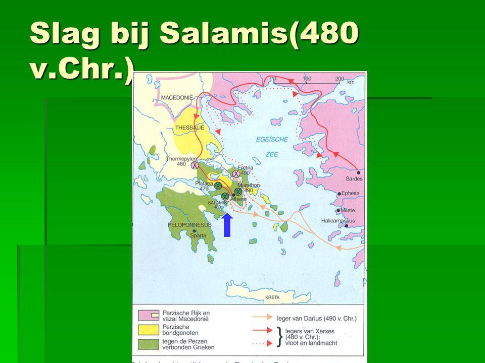 Slag bij Salamis(480 v.Chr.)