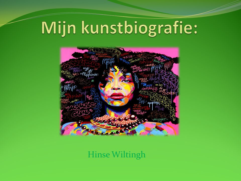 Mijn kunstbiografie: Hinse Wiltingh