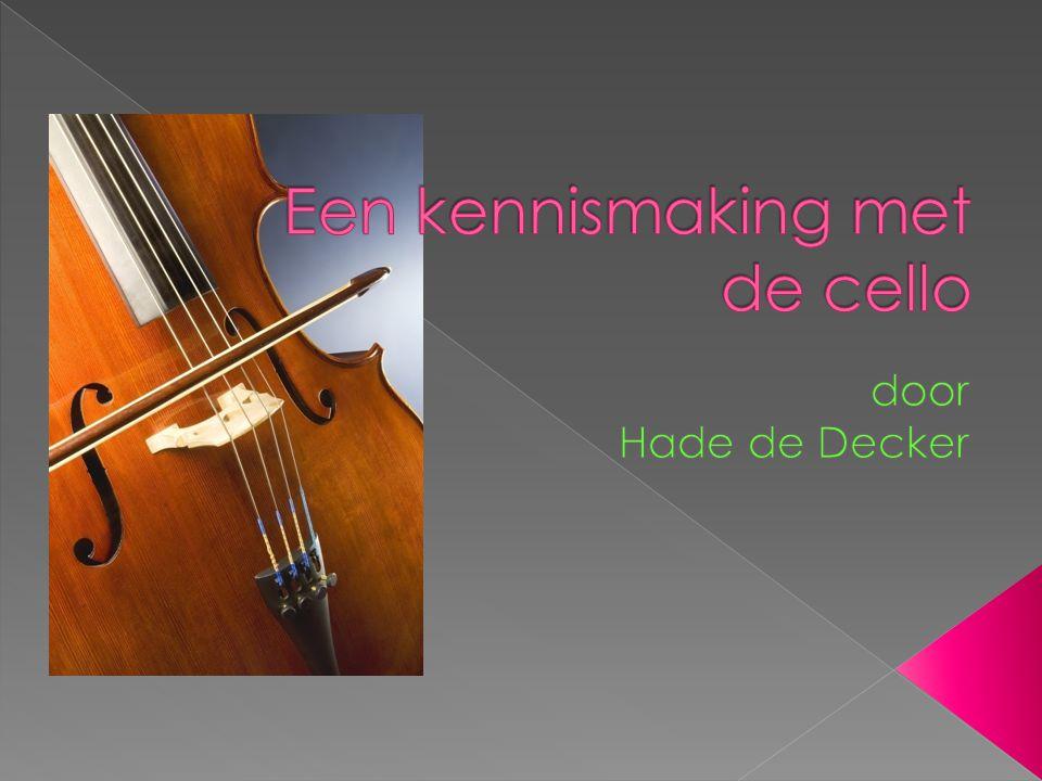 Een kennismaking met de cello