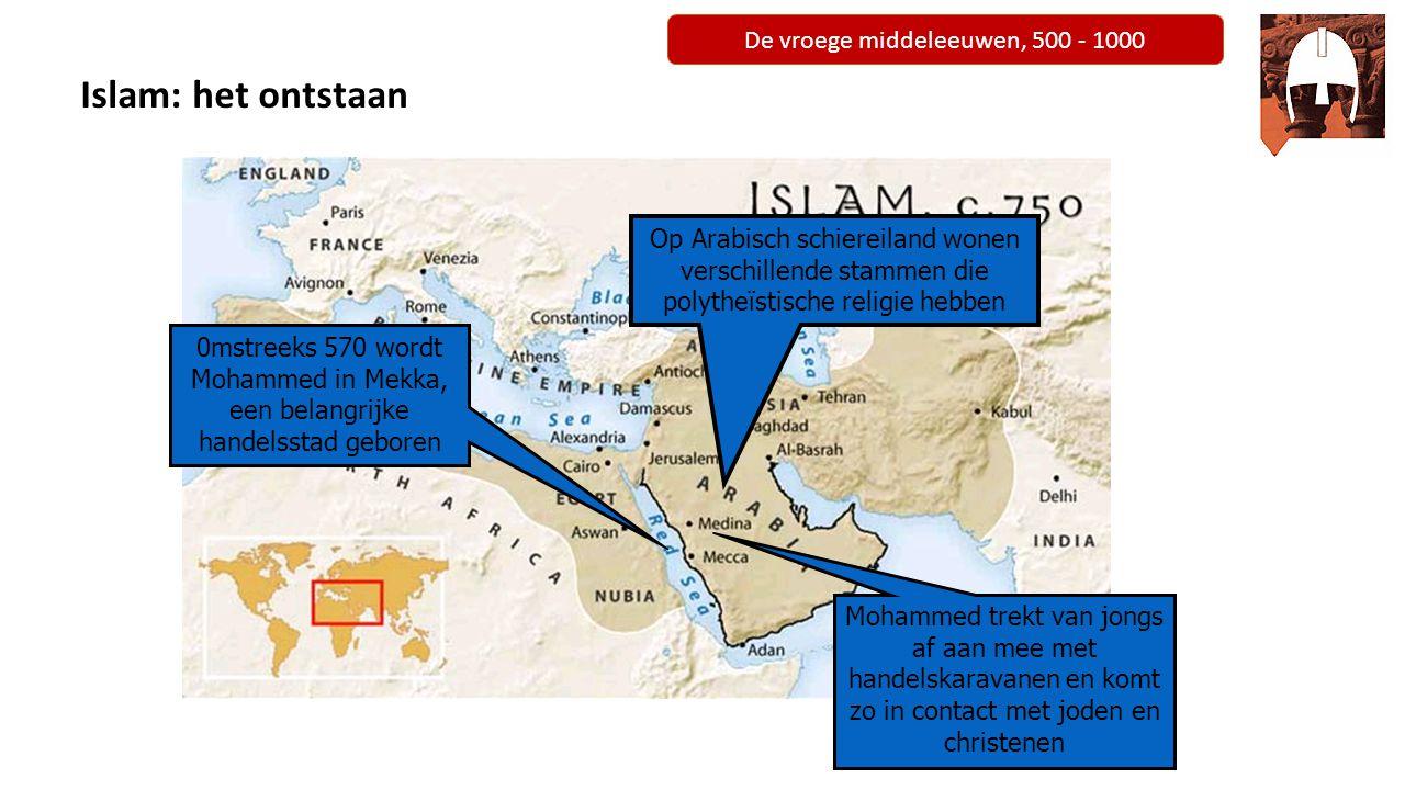 De vroege middeleeuwen, 500 - 1000