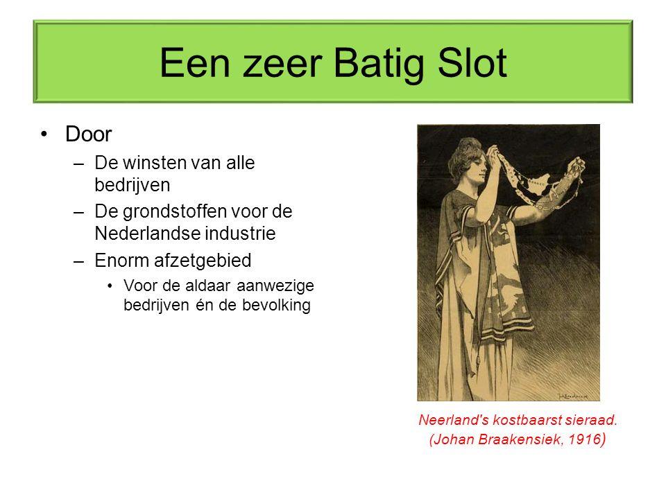 Neerland s kostbaarst sieraad. (Johan Braakensiek, 1916)