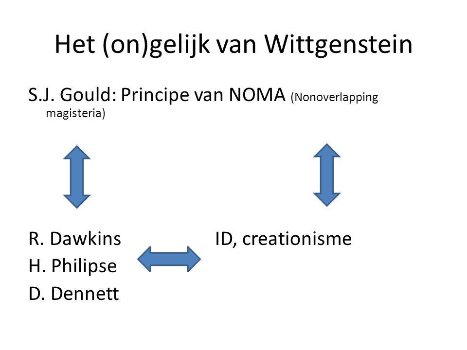 Het (on)gelijk van Wittgenstein