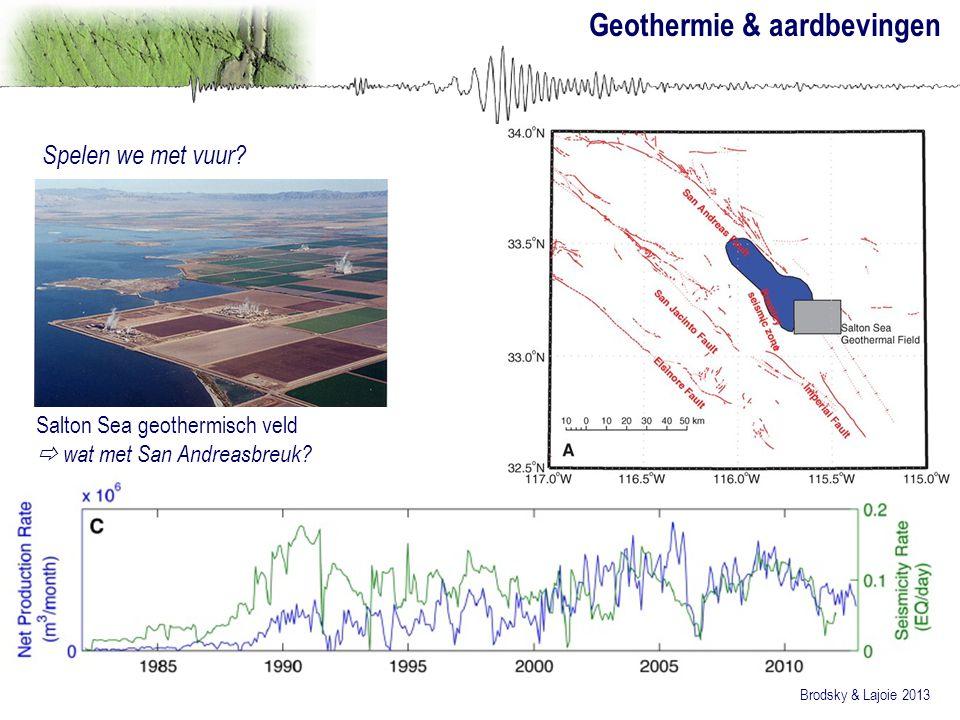 Geothermie & aardbevingen