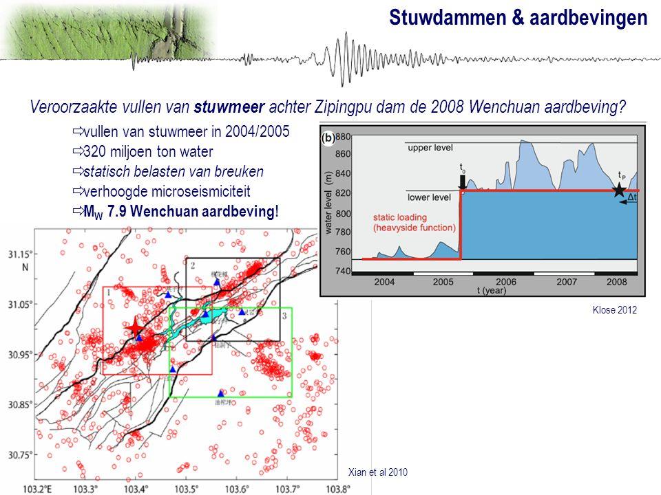 Stuwdammen & aardbevingen