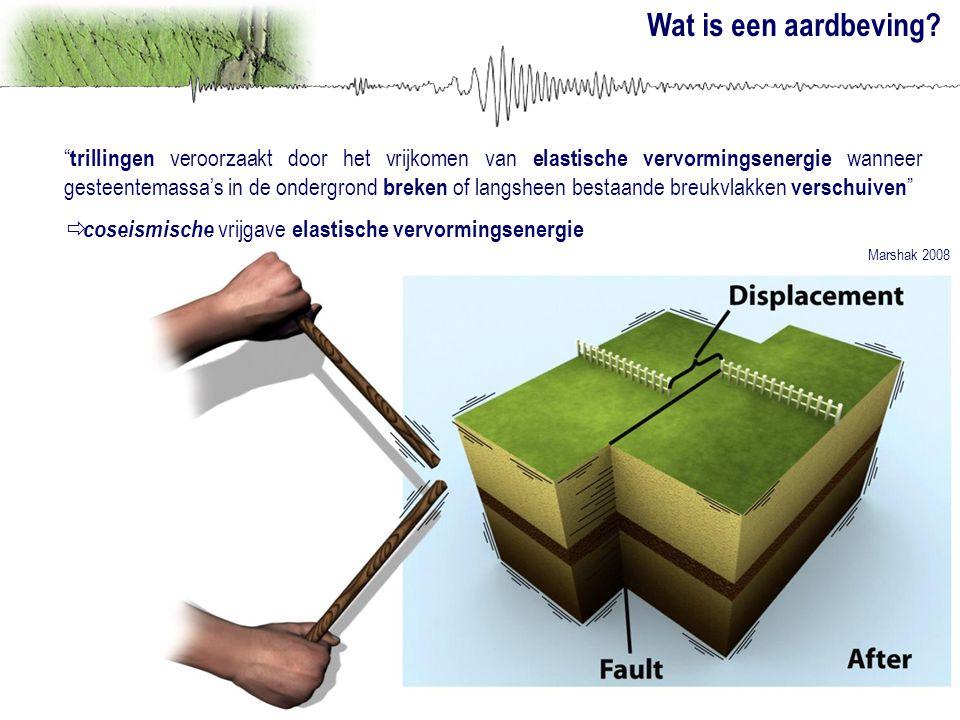 Wat is een aardbeving