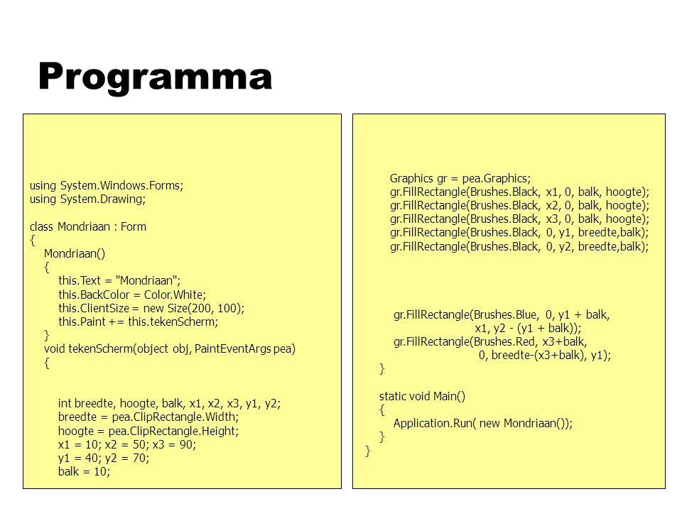 Programma asd Graphics gr = pea.Graphics;