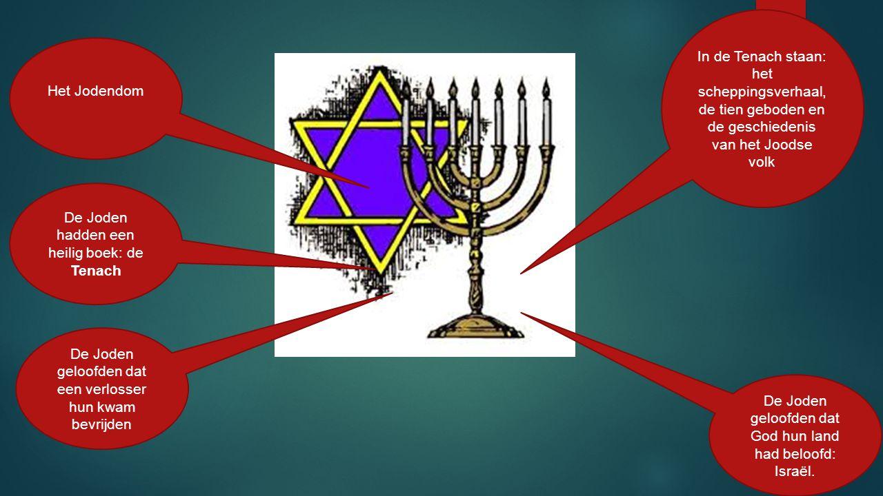 De Joden hadden een heilig boek: de Tenach