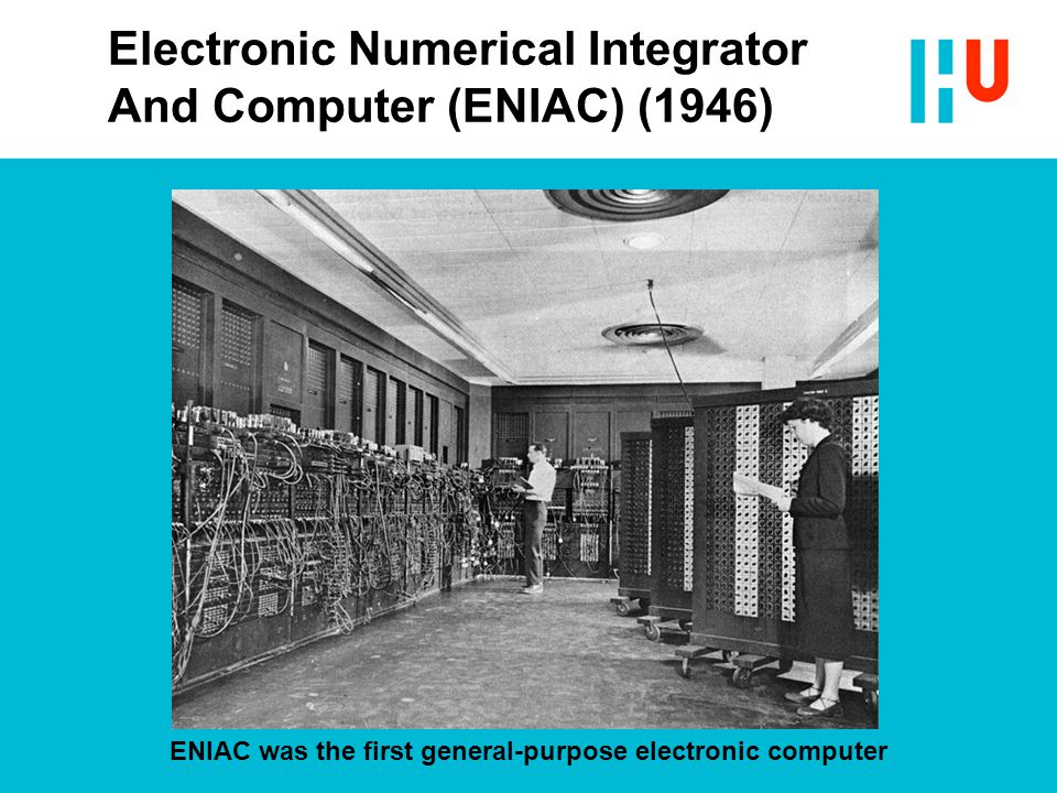 Electronic Numerical Integrator And Computer (ENIAC) (1946)