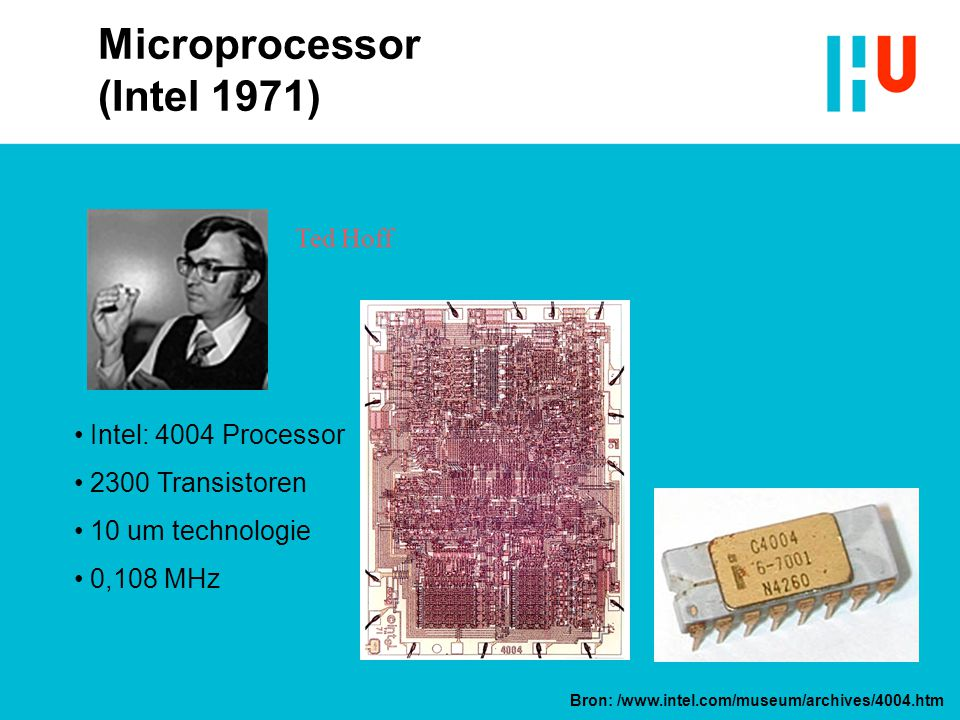 Microprocessor (Intel 1971)