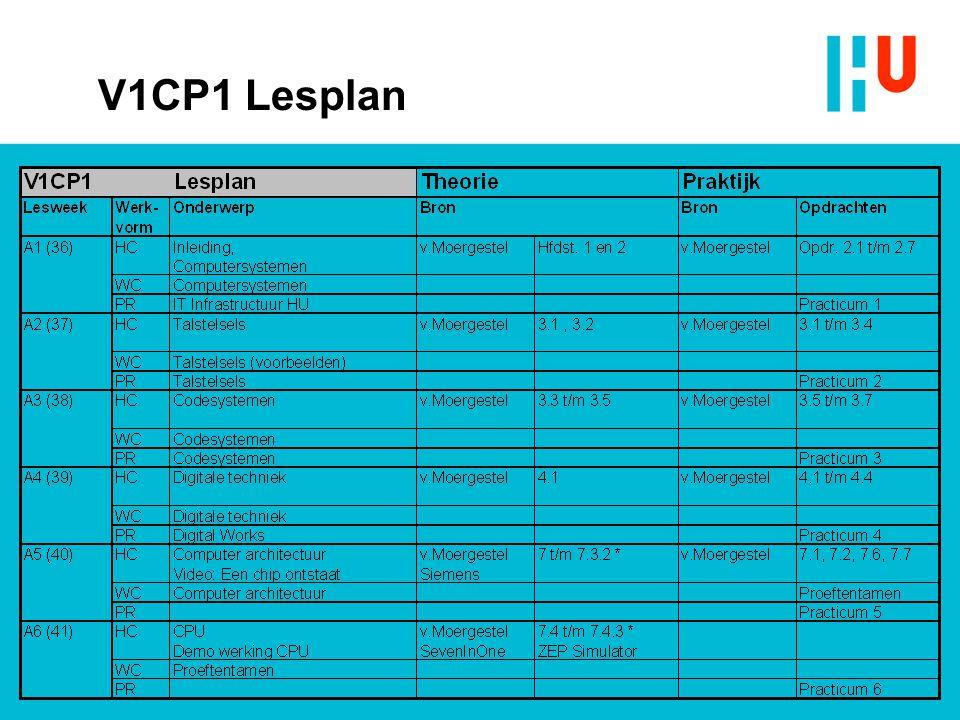 V1CP1 Lesplan